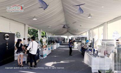 Exhibition Tents interior